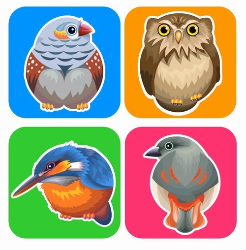 Illustrator实战教程教你如何用AI绘制可爱的卡通小鸟
