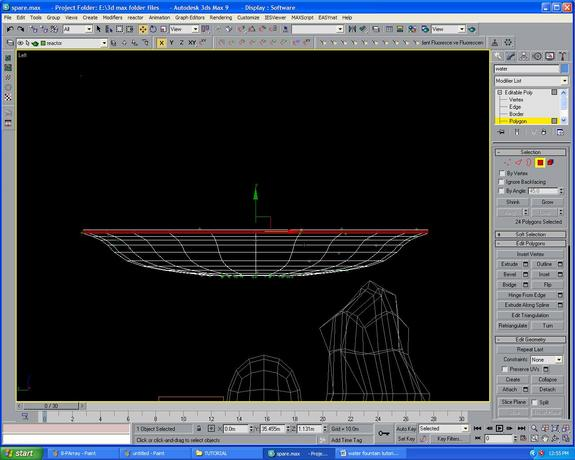 3dsmax喷泉动画建模教程