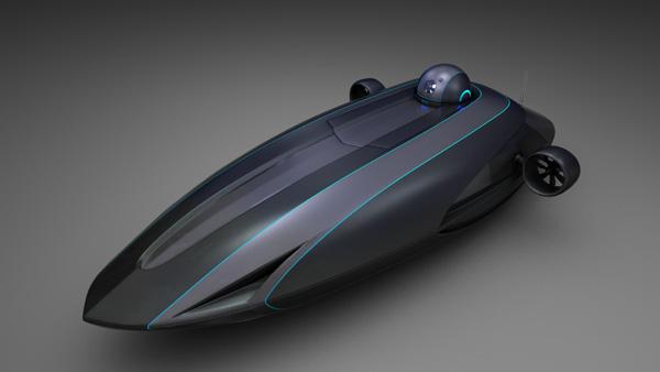 创意潜艇设计,性能强悍的海底探索怪兽