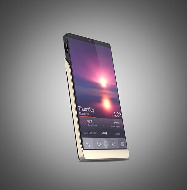 五款智能手机创意设计,稀奇古怪的手机灵感设计合集