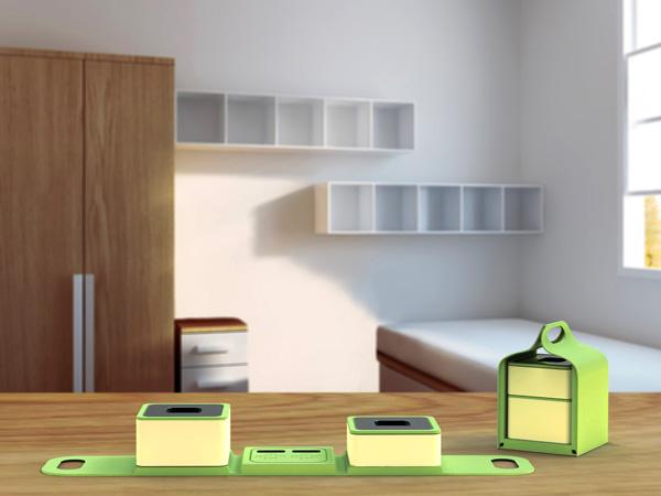 便携式餐盒设计,方便携带的创意饭盒设计