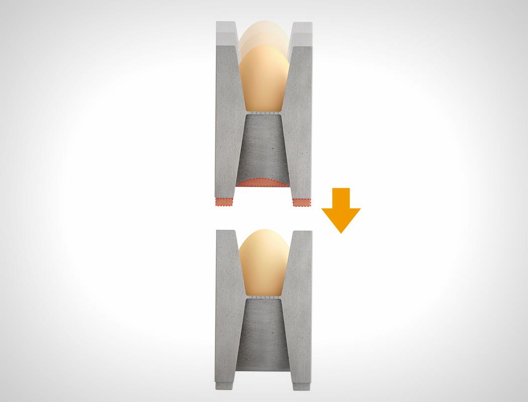 模块化创意鸡蛋托盘