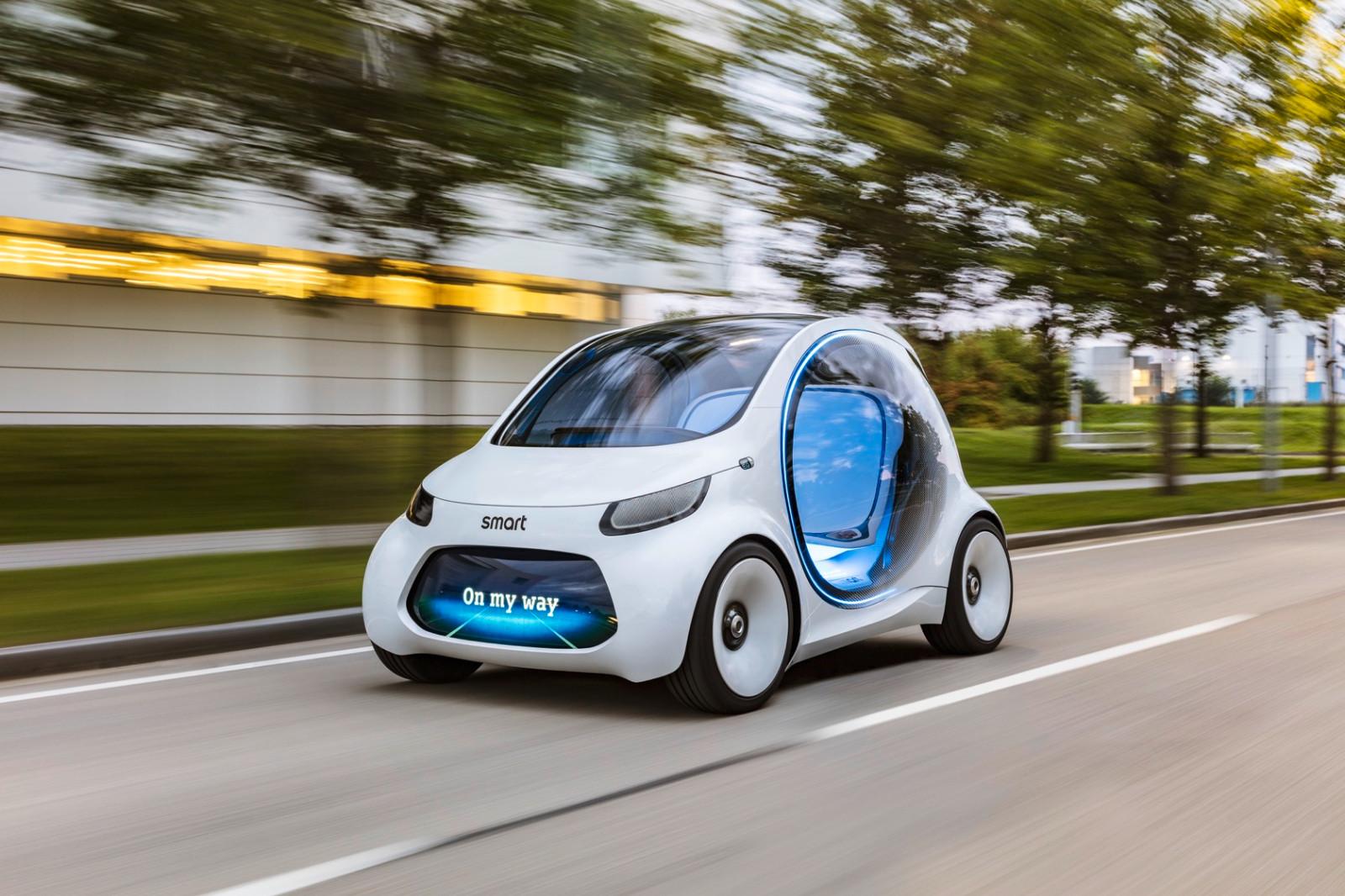 自动驾驶概念车设计,未来出行新方式无人驾驶的汽车