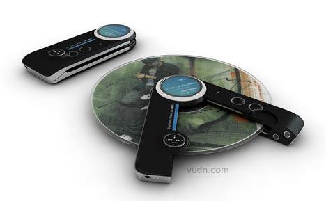 音乐数码产品概念设计,强大的娱乐音乐工具