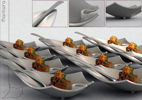 Gabriel Contino餐盘设计