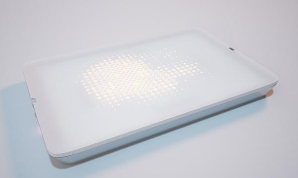 """""""Light Dish""""LED餐盘"""
