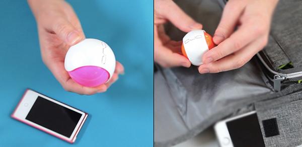 圆球无线充电器