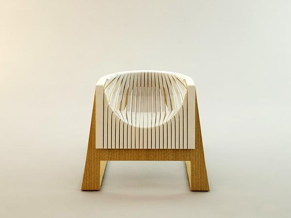 折叠椅创意设计,折叠收纳的椅子家居使用更方便