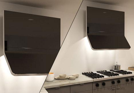家用抽油烟机创意设计,还你洁净厨房烹饪环境