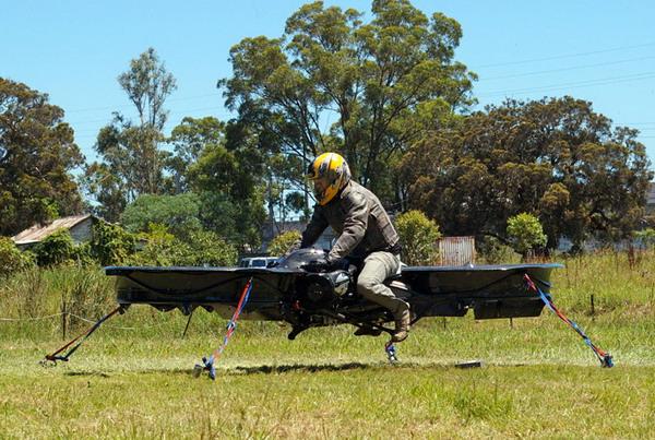 概念飞行摩托车设计,可以飞天翱翔的摩托车创意设计