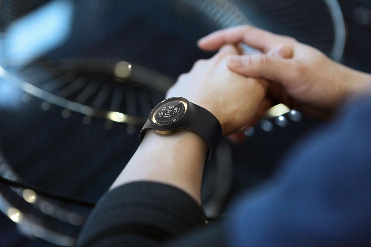 智能手表创意设计,功能强大的时尚穿戴设备