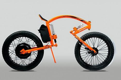 概念电动自行车设计,潮流环保出行首选代步神器