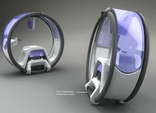 概念公交车创意设计,改变人们出行方式的变革设计