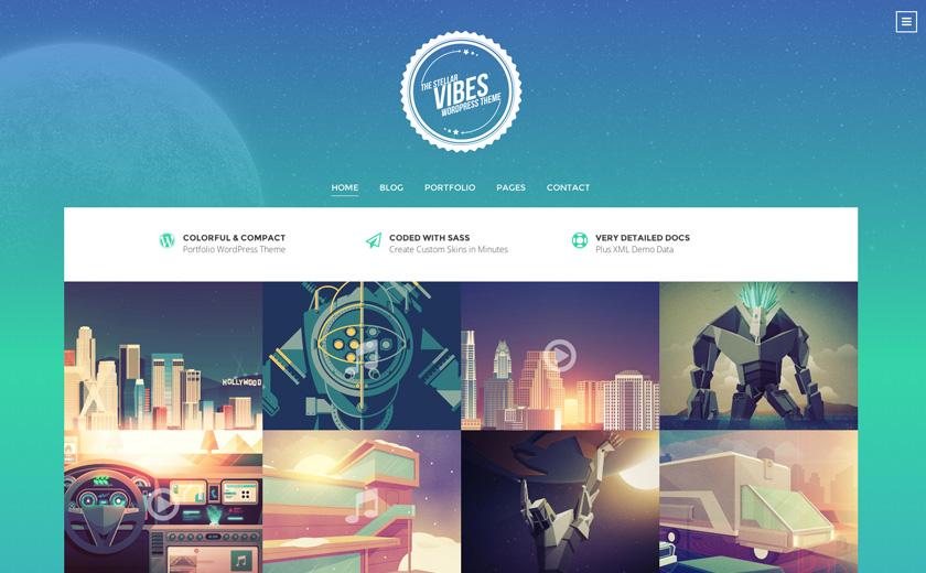 渐变色网页设计案例欣赏,十八个渐变色应用网页设计作品