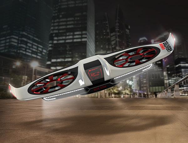 五大无人机设计,科技与创意兼得的好设计作品