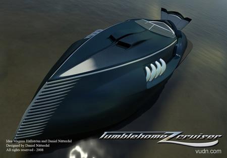 创意豪华快艇设计,创意让你体验海上的速度和刺激