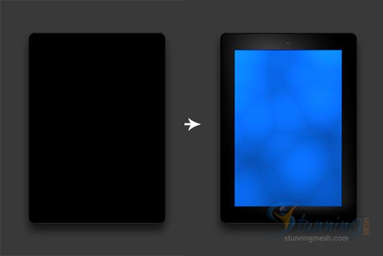 Realistic iPad Design in Photoshop