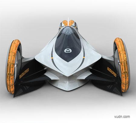 汽车设计灵感爆棚之马自达概念车设计作品集欣赏