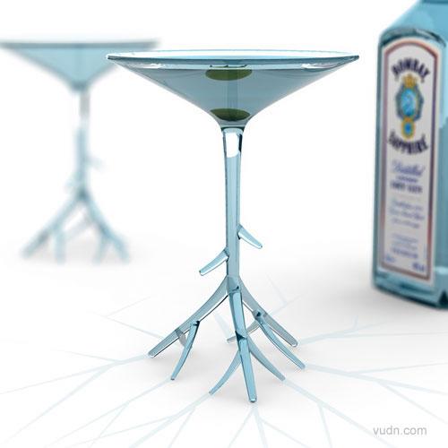六款创意酒杯设计,品好酒当然需要设计师们的好酒杯