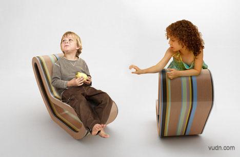创意儿童摇椅设计,新时代的实用儿童摇椅