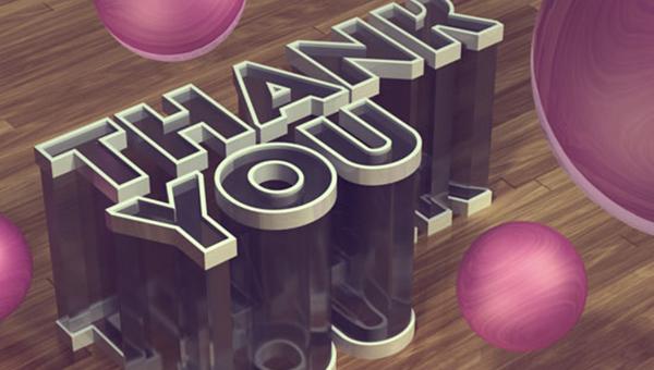 PS制作3D水晶文字效果教程,Photoshop cs6玻璃文字效果的创建