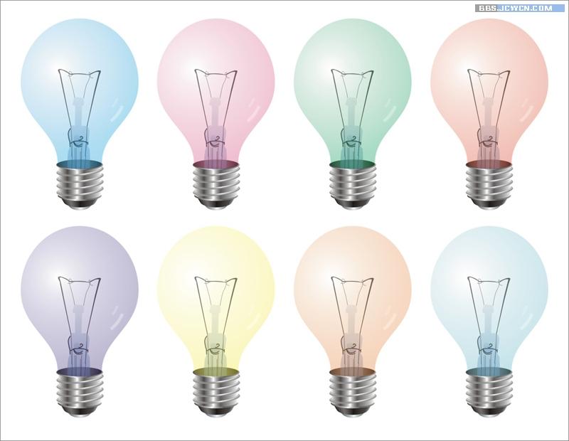 CorelDRAW绘制灯泡详细步骤图文基础教程