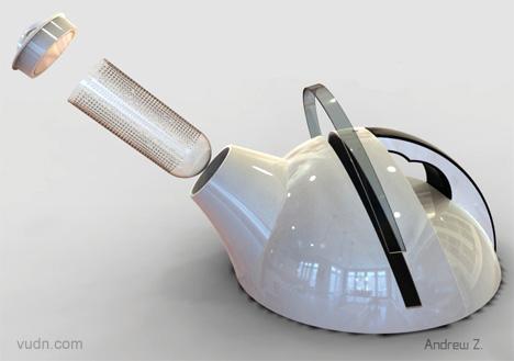 四款创意茶壶设计,设计师的创新泡茶神器