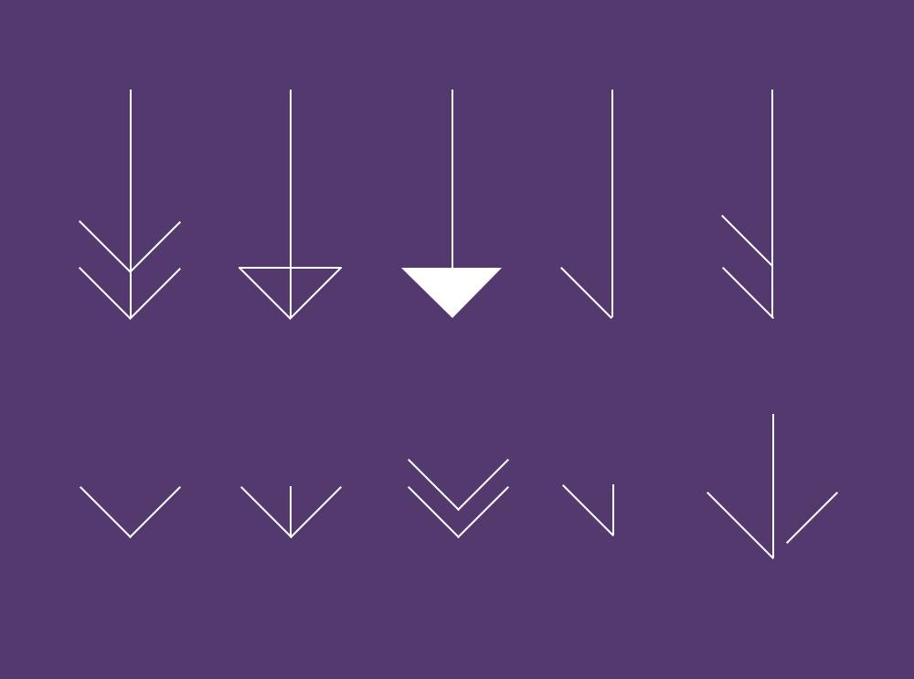 设计师须知,平面构成基本要素线的处理技巧和方法图片