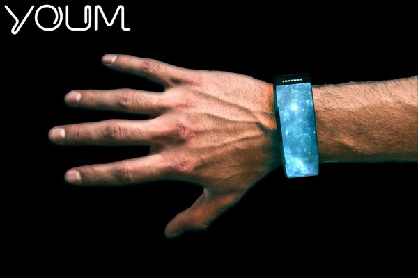 智能手表概念设计作品集,科技感知足的创意计时工具