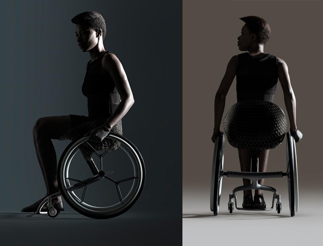 创意轮椅设计作品集,贴心的人性化实用设计