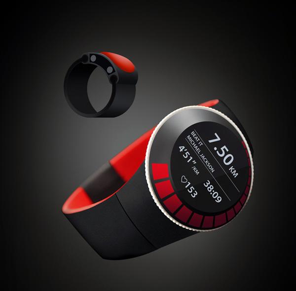 创意运动手表设计,时尚新潮好用的运动装备