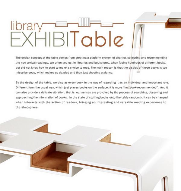 六大书桌创意设计,实用居家办公阅读的家具用品