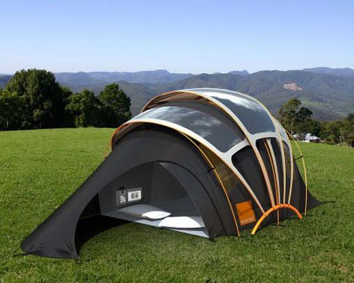 创意帐篷设计作品集欣赏,实用亲近大自然的生活用品