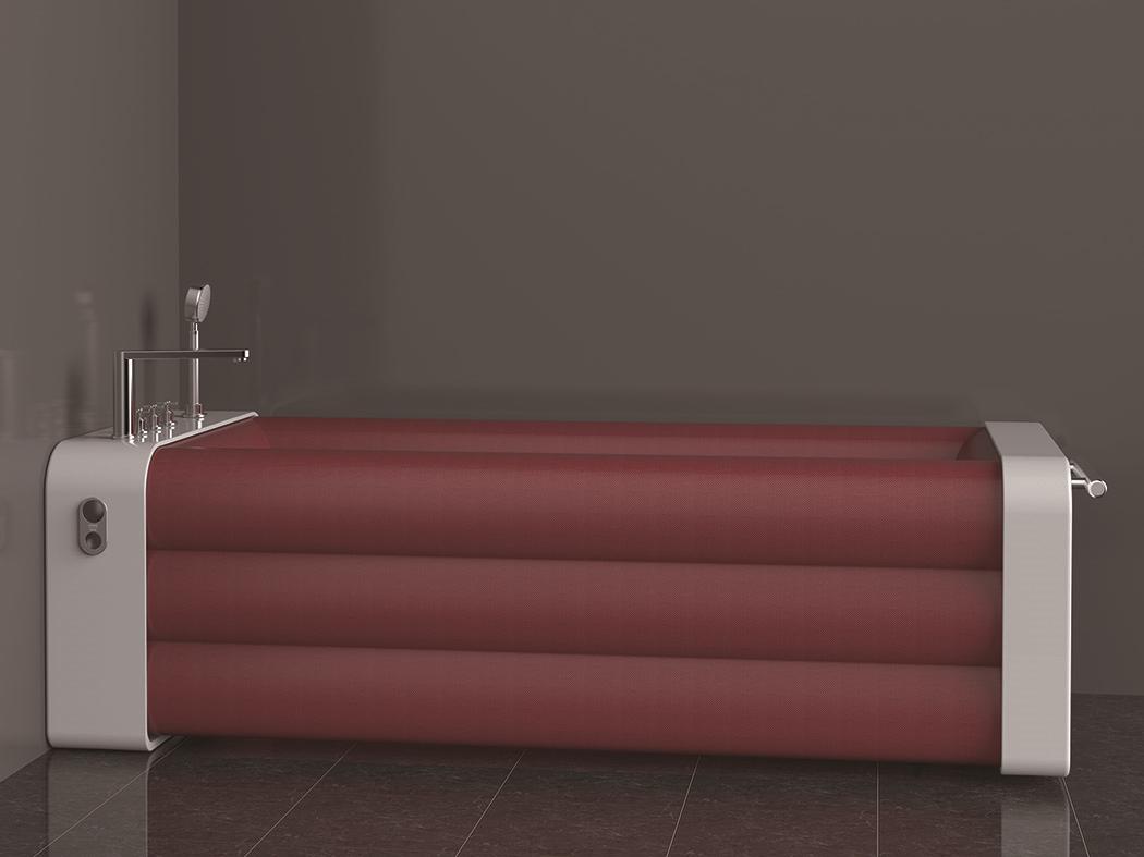折叠浴缸创意设计,可以折叠的浴缸你见过么?