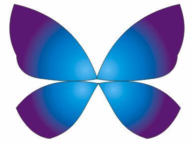 教你如何用造型工具与交互设置绘制蝴蝶