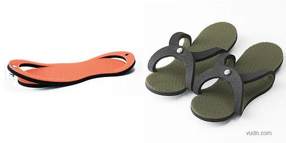 四款新奇创意拖鞋设计,帮你释放天性解放自我