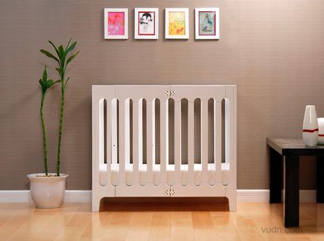 创意婴儿床设计,给宝宝安稳熟睡的成长摇篮