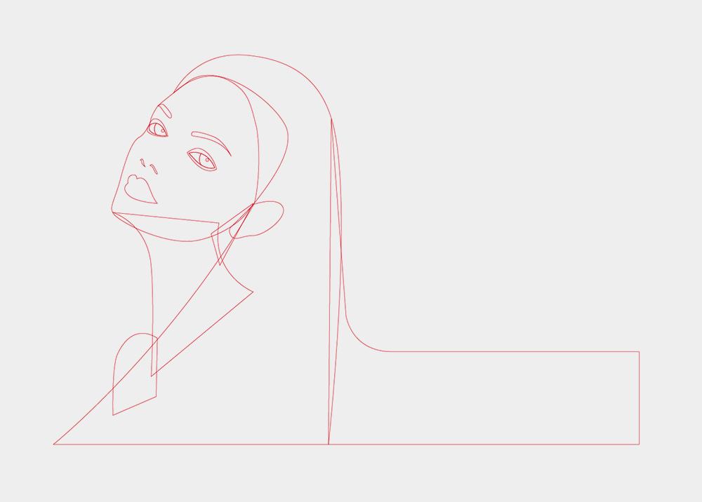 教你如何用PS绘制极简时尚风格插画