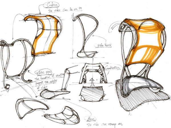 残疾人专用产品设计创意欣赏,贴心设计汇集图片