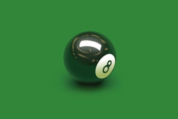 PS实例教程,教你如何用PS绘制黑色桌球