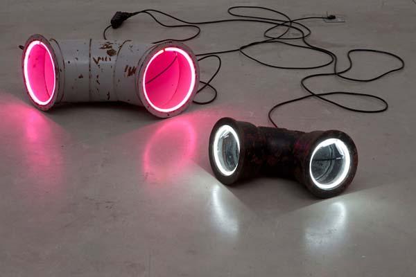 创意霓虹灯具设计作品集,这样的照明效果你想要么?