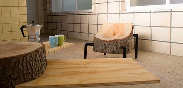 手工家具设计作品欣赏,返璞归真的家具设计创意