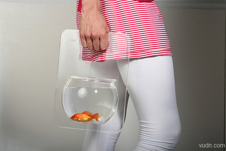 七大创意鱼缸设计,家居装饰养鱼观赏用品设计