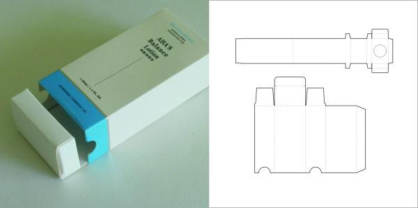 包装欣赏,包装结构设计实样图和包装展开分解图大全