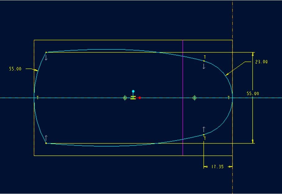 玩转proe建模方法,鼠标建模实例图文教程