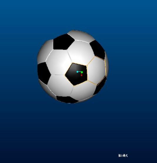 PROE足球建模实例教程