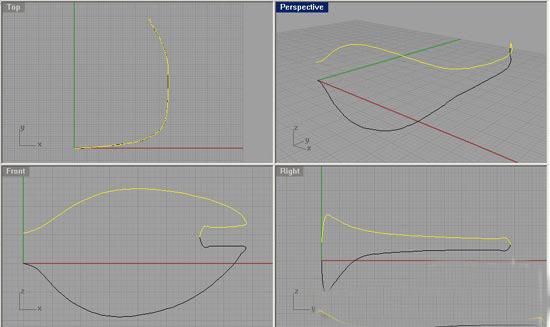 犀牛眼镜建模图文教程