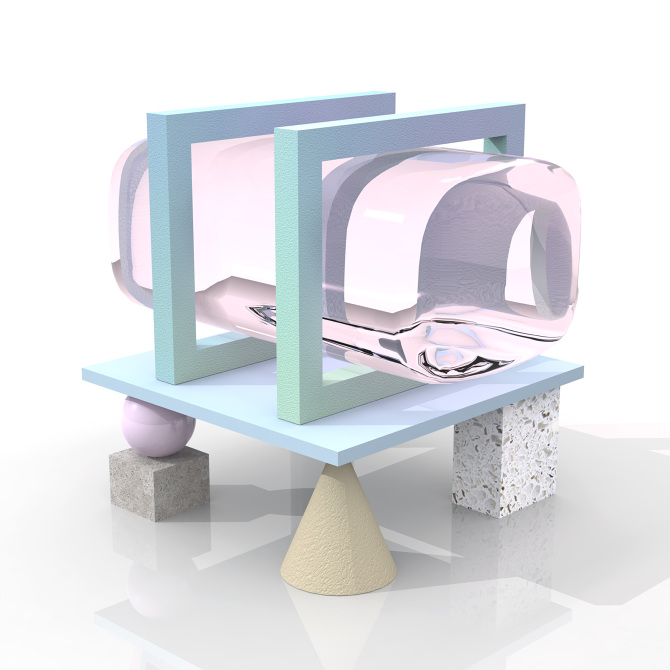 梦幻3D插画设计作品欣赏