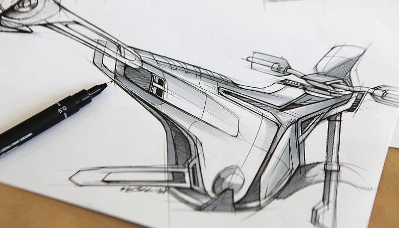 工业设计手绘考研分析,手绘高分必备的九大创意元素